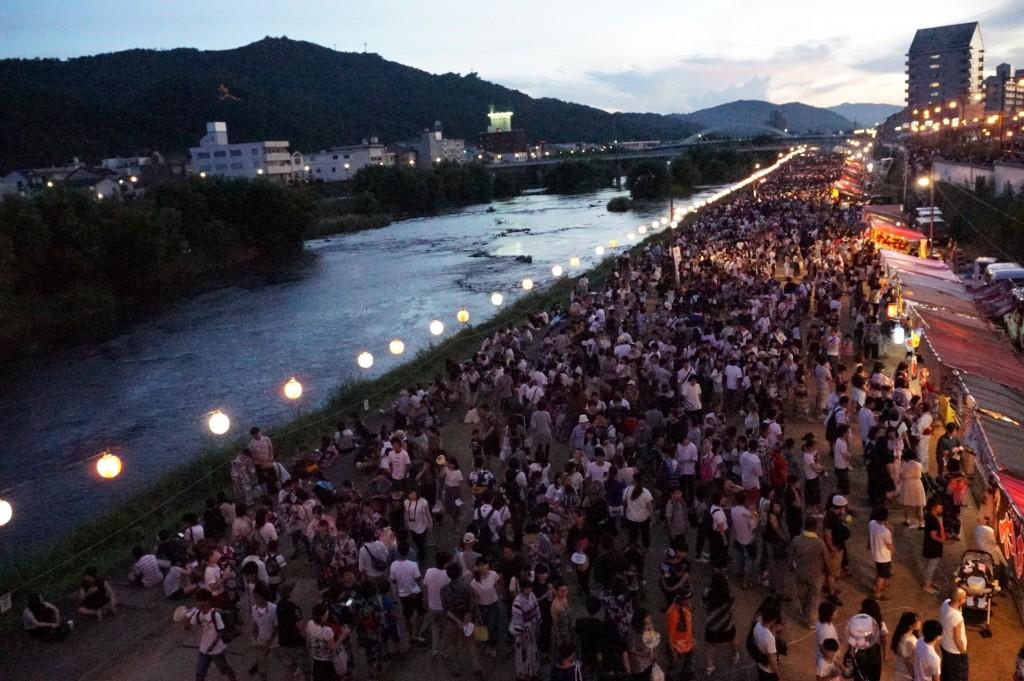 第38回津山納涼ごんごまつりIN吉井川