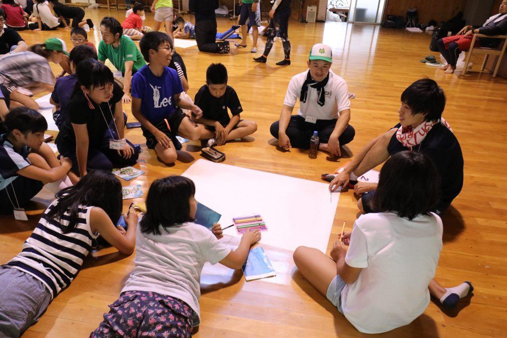 キャンプファイヤー課題練習